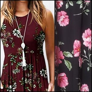 🆕️ BAND OF GYPSIES Floral Maxi Dress!
